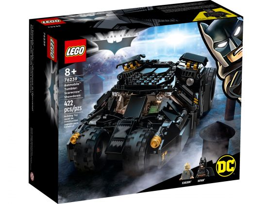 LEGO 76239 DC Batman Batmobile Tumbler: Scarecrow krachtmeting