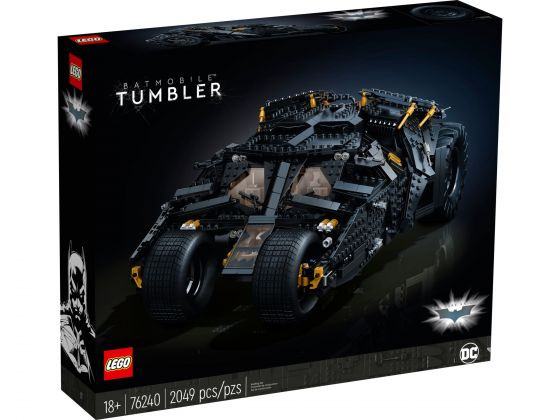 LEGO 76240 DC Batman Batmobile Tumbler