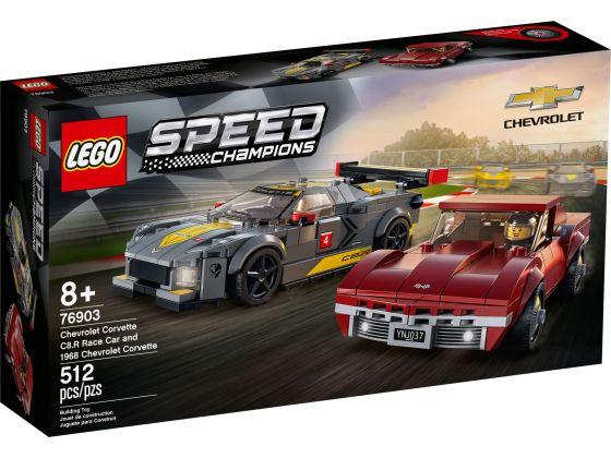 LEGO Speed Champions 76903 Chevrolet Corvette C8.R en 1968 Corvette