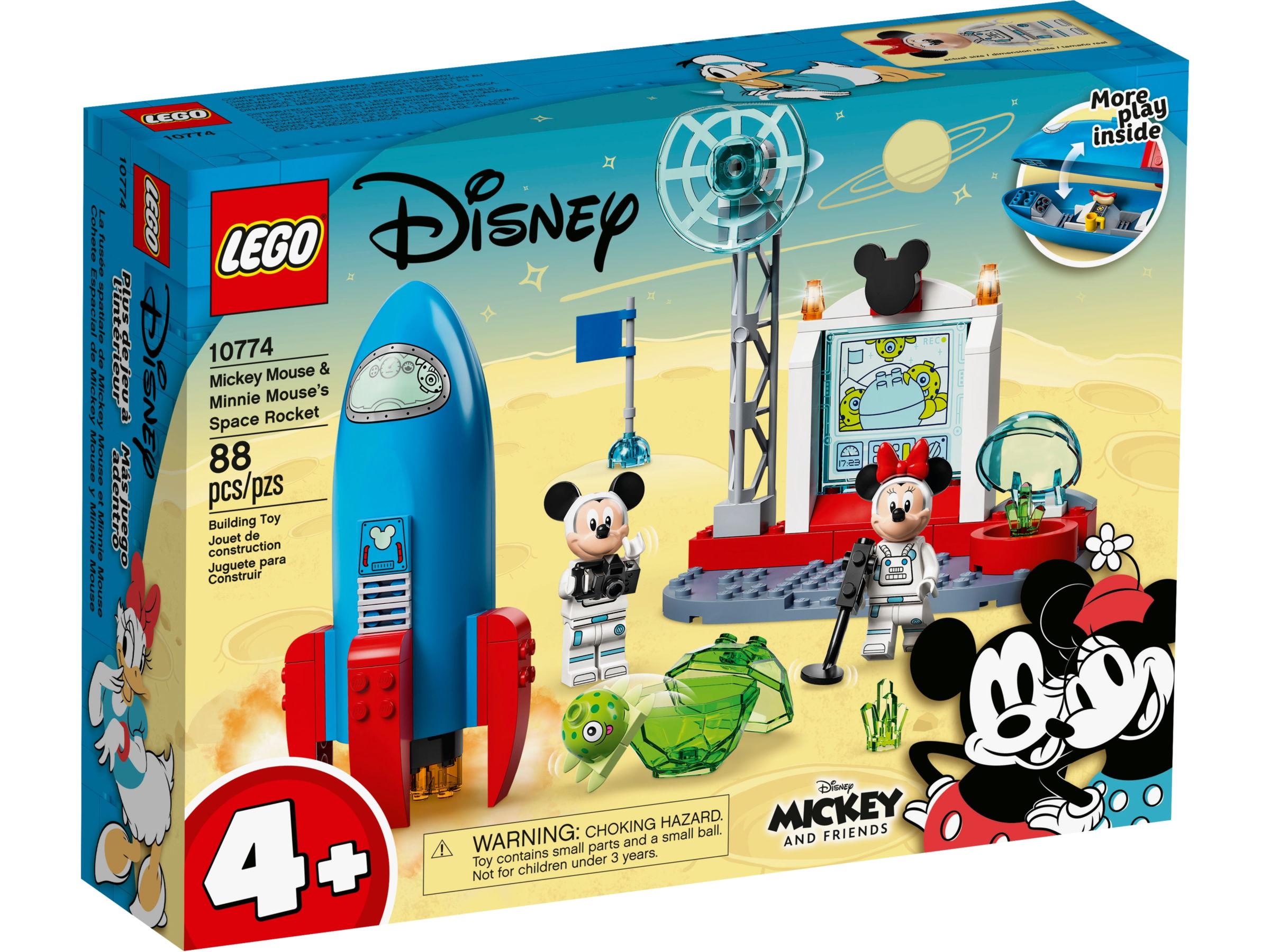 LEGO Disney 10774 Mickey Mouse & Minnie Mouse ruimteraket