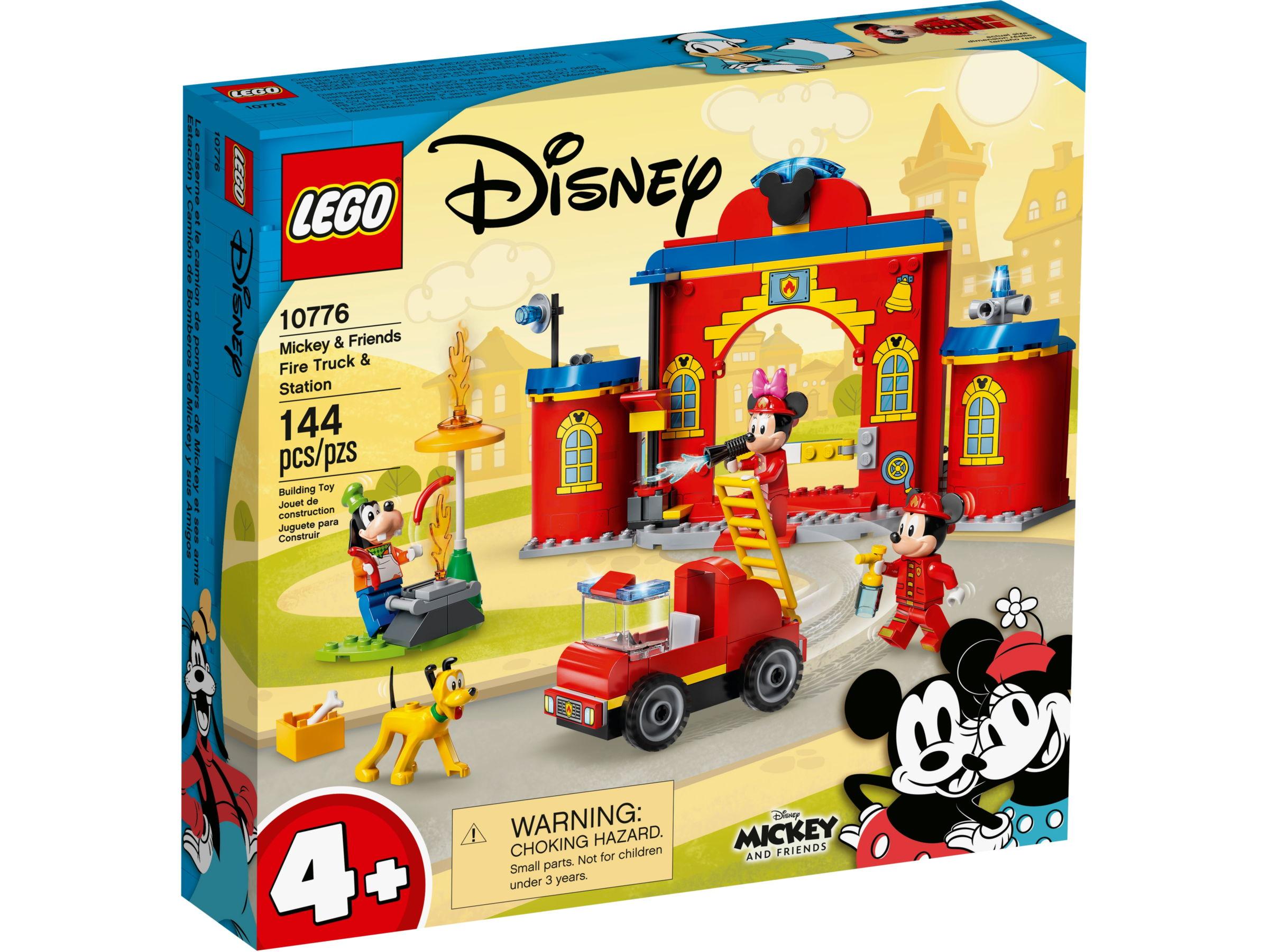 LEGO Disney 10776 Mickey & Friends brandweerkazerne & auto
