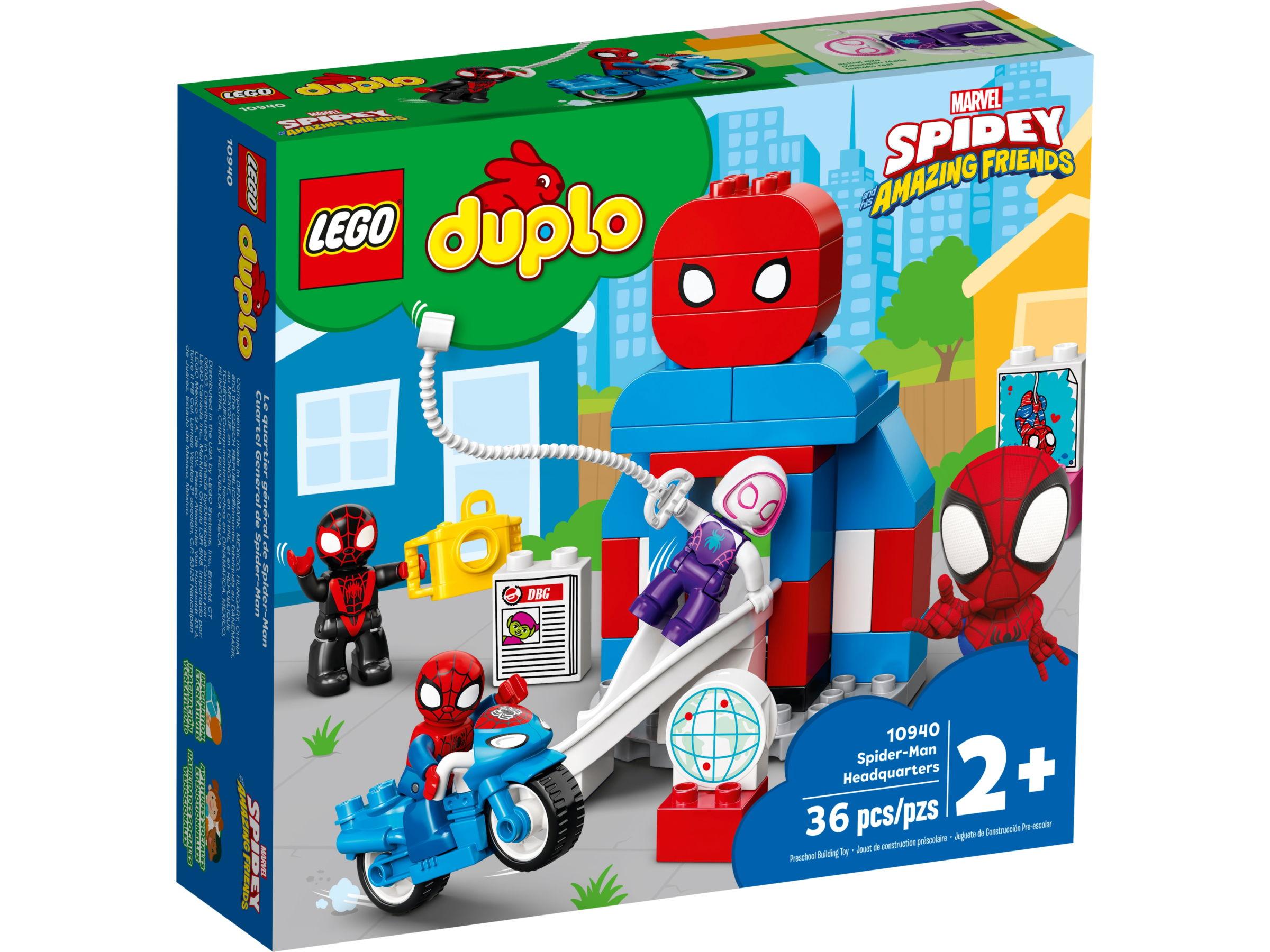 LEGO Duplo 10940 Spider-Man hoofdkwartier