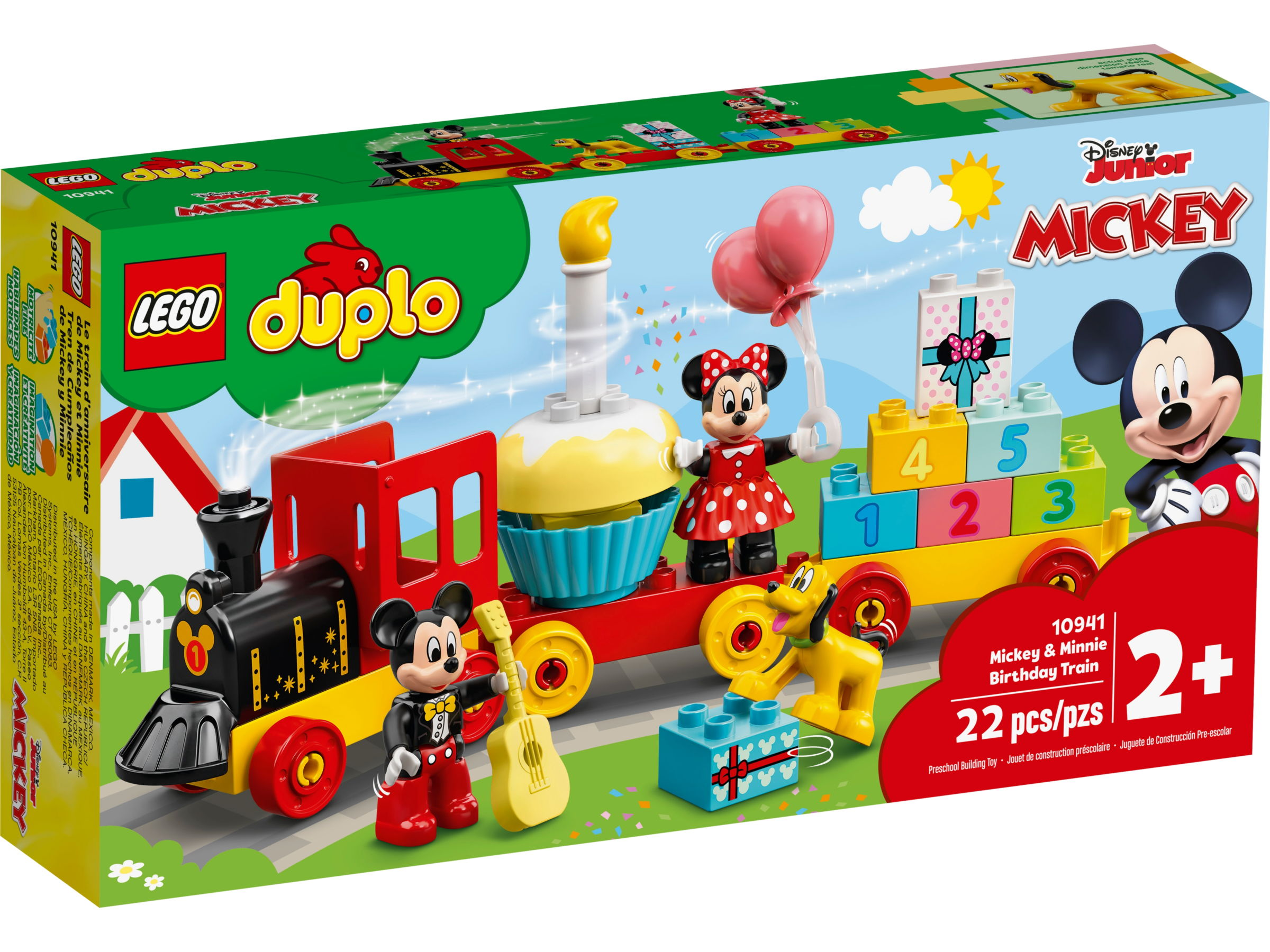 LEGO Duplo 10941 Mickey & Minnie Verjaardagstrein
