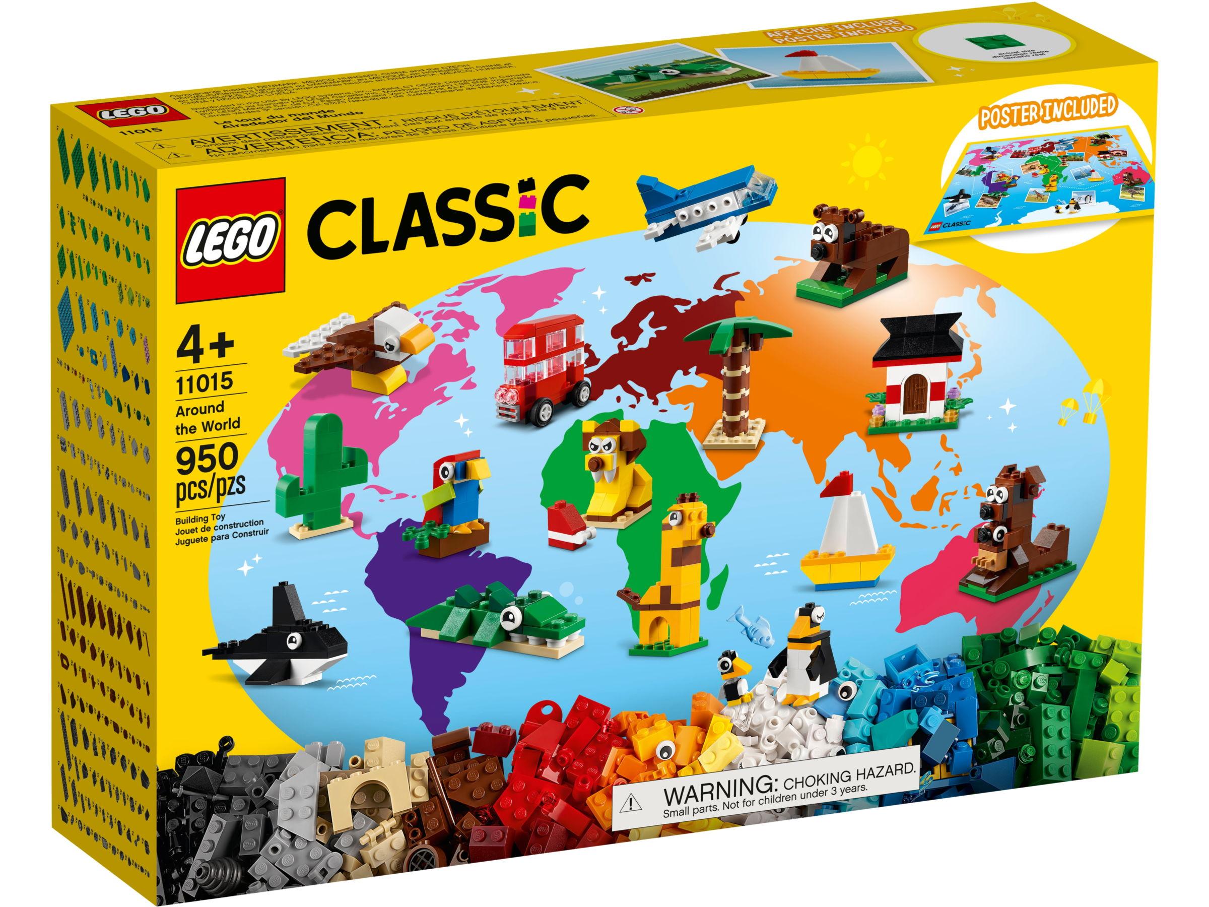 LEGO Classic 11015 Rond de wereld