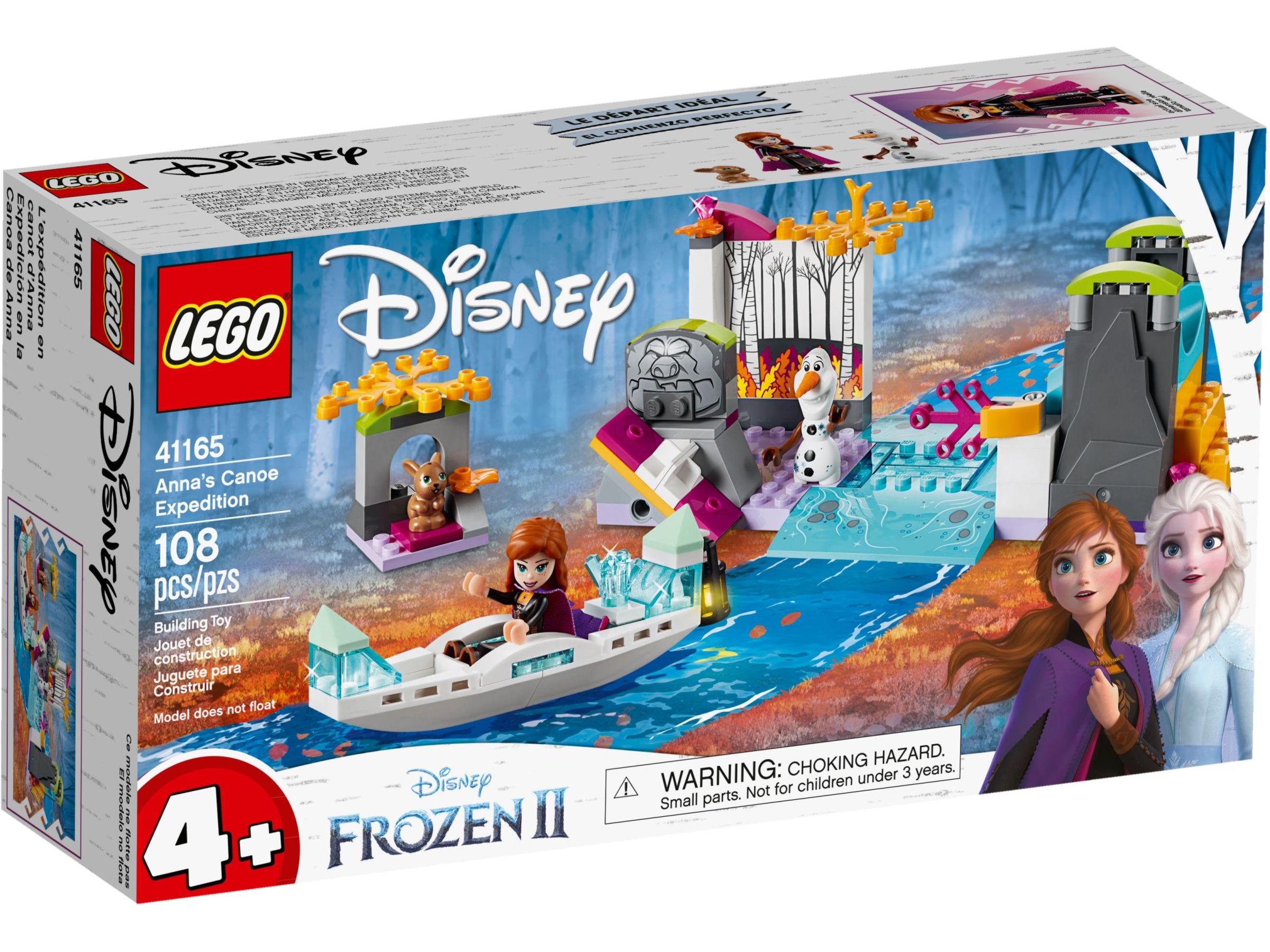 LEGO Disney Frozen 41165 Anna's kano-expeditie