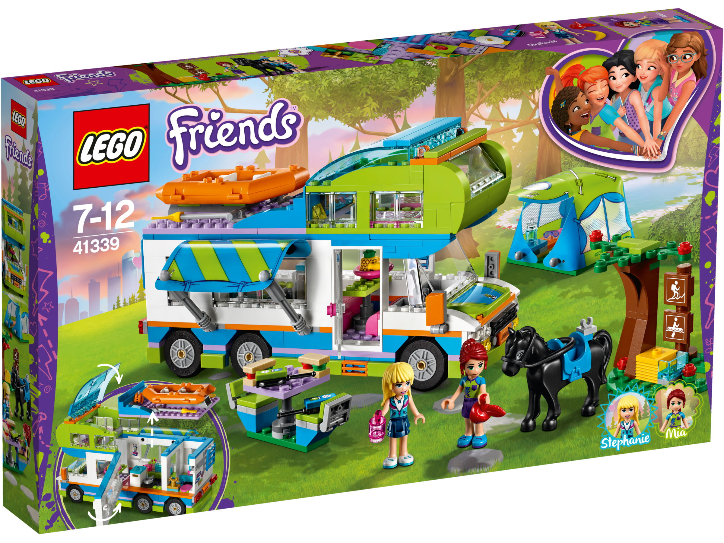 LEGO Friends 41339 Mia?s camper