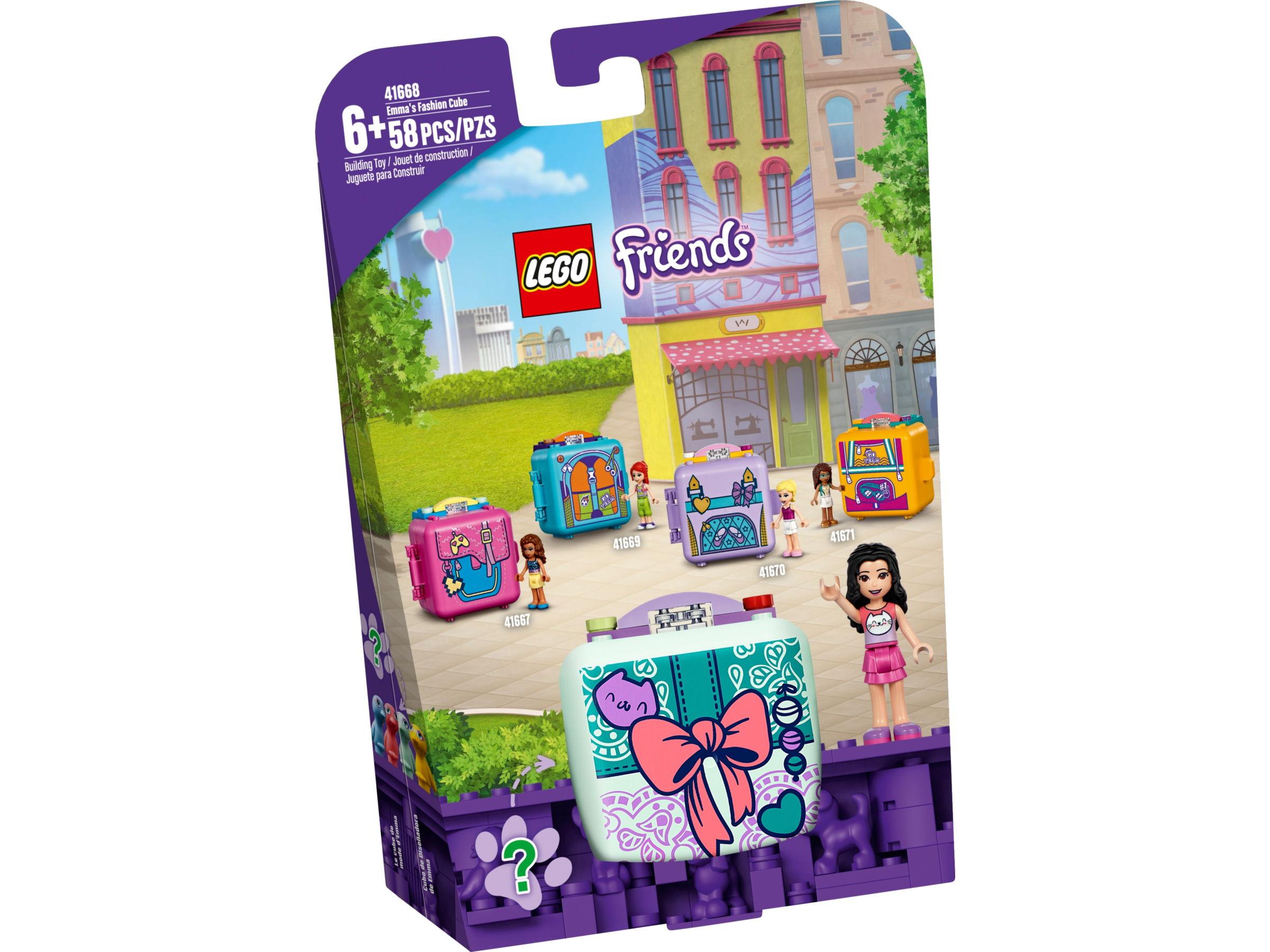 LEGO Friends 41668 Emma's modekubus