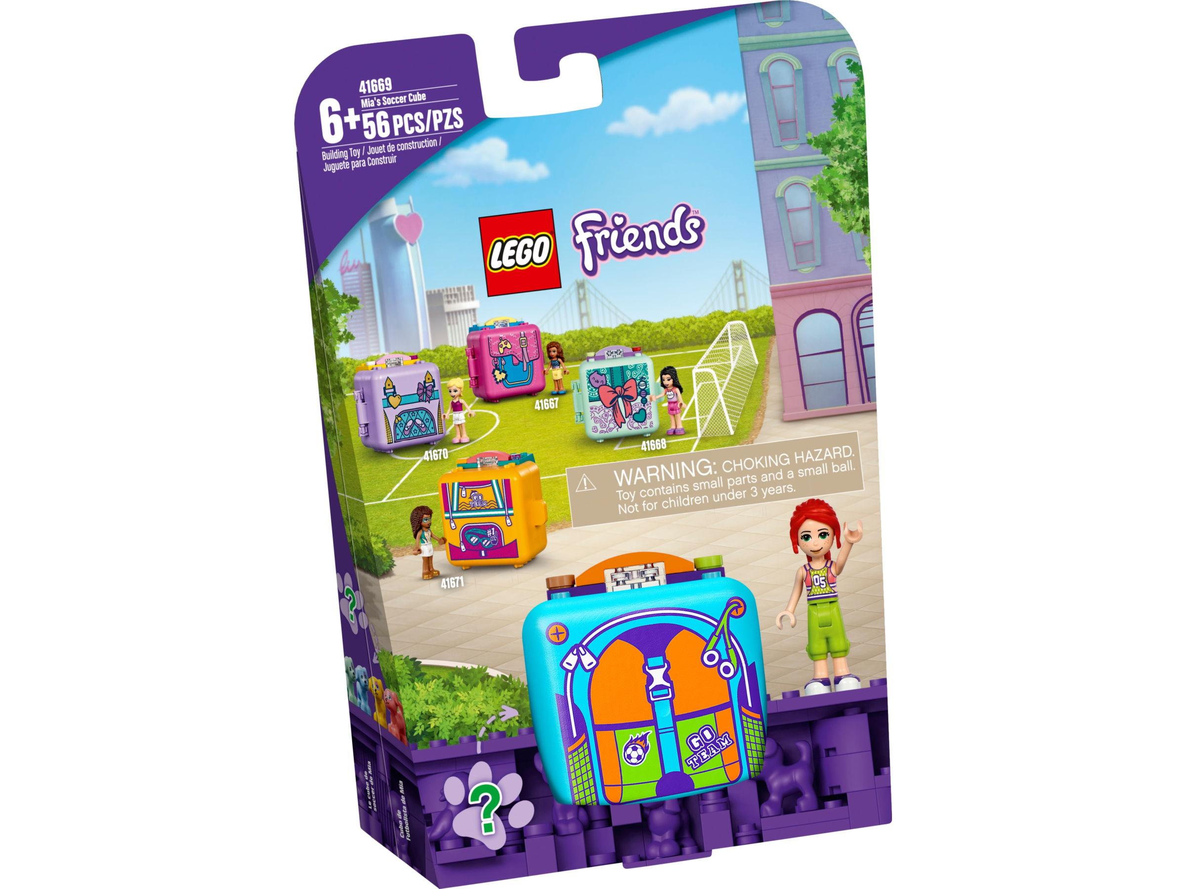 LEGO Friends 41669 Mia's voetbalkubus