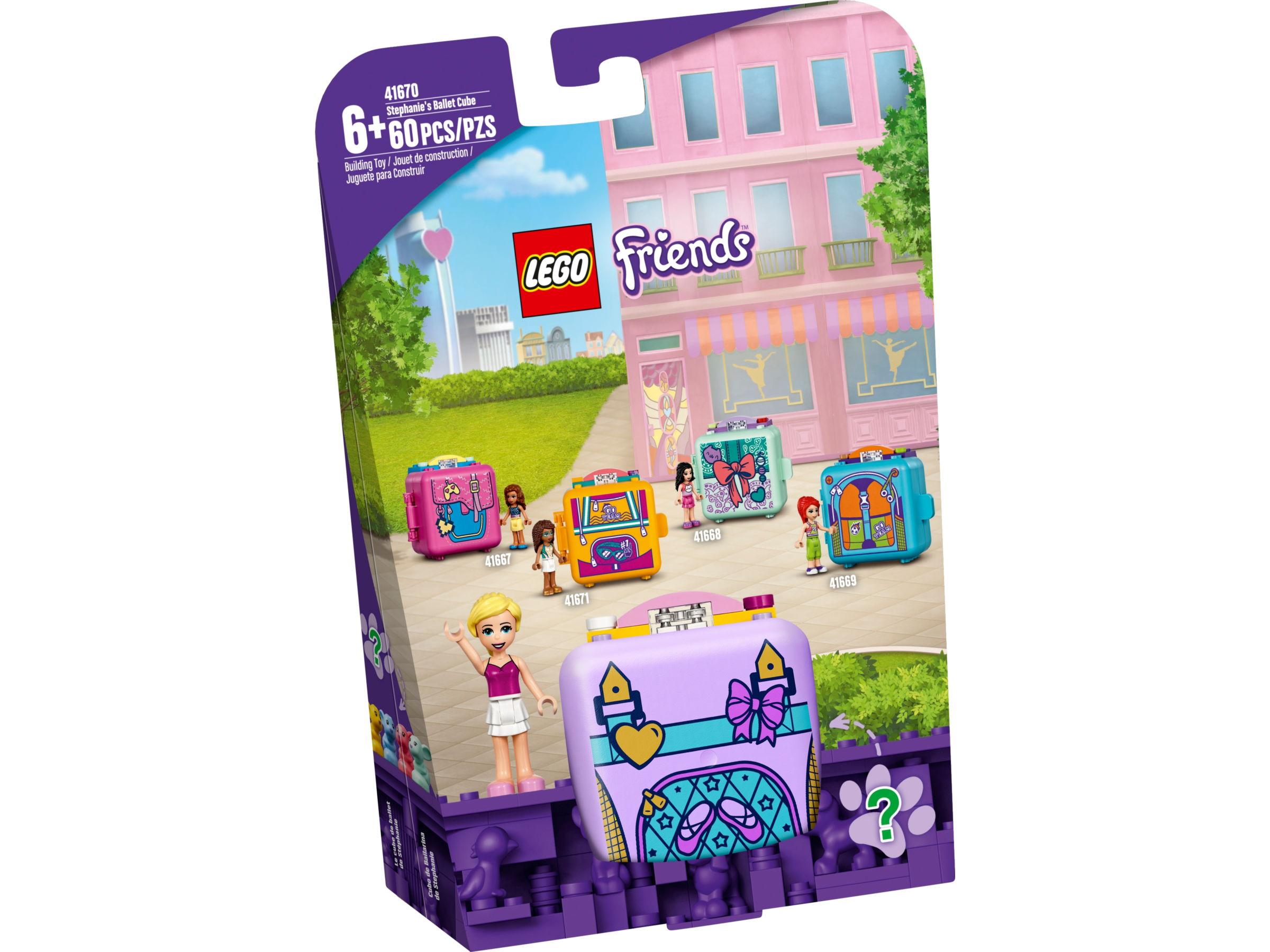 LEGO Friends 41670 Stephanie's balletkubus