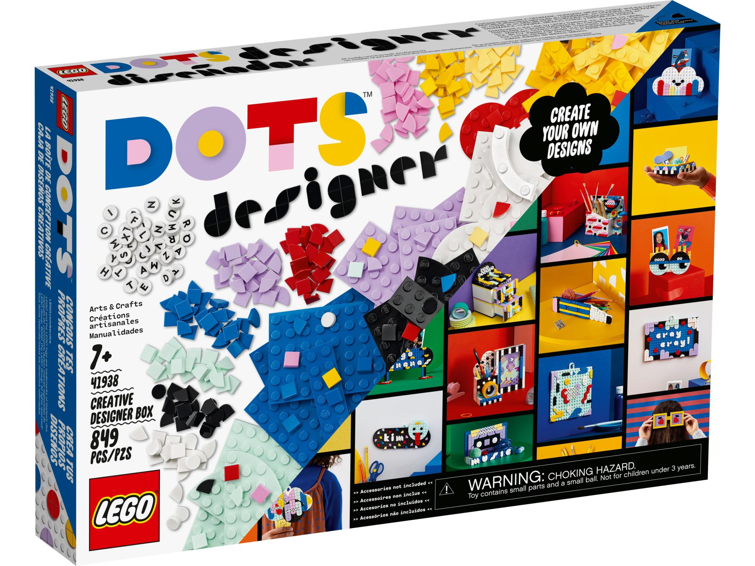 LEGO Dots 41938 Creatieve ontwerpdoos