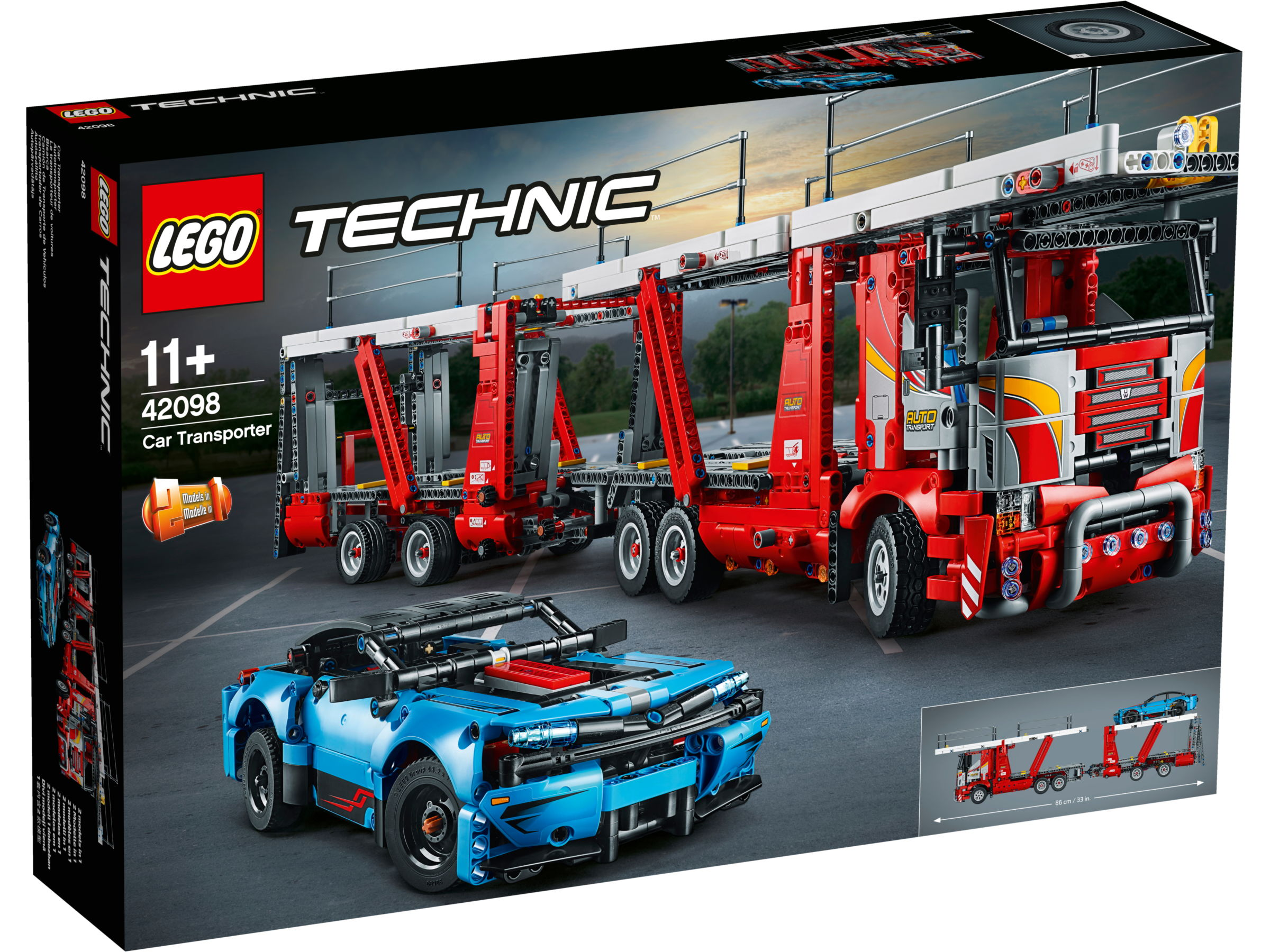 LEGO Technic 42098 Autotransport voertuig