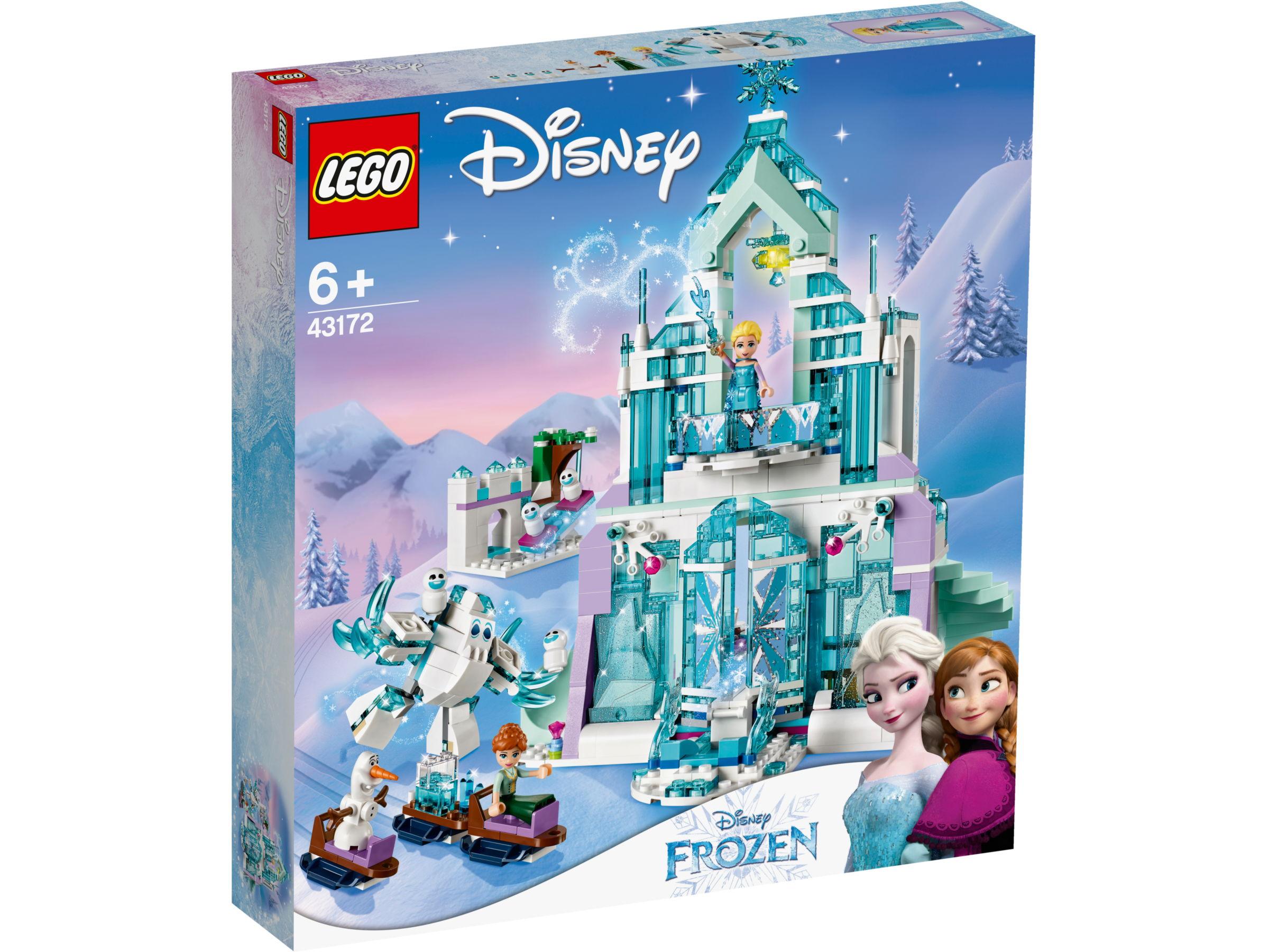 LEGO Disney 43172 Elsa's magische ijspaleis