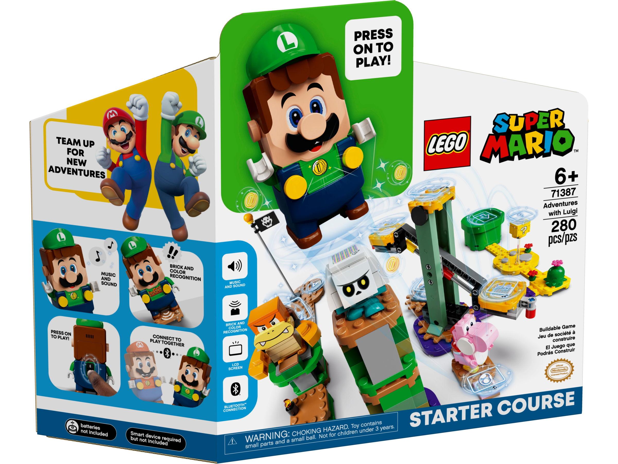 LEGO Super Mario 71387 Avonturen met Luigi startset
