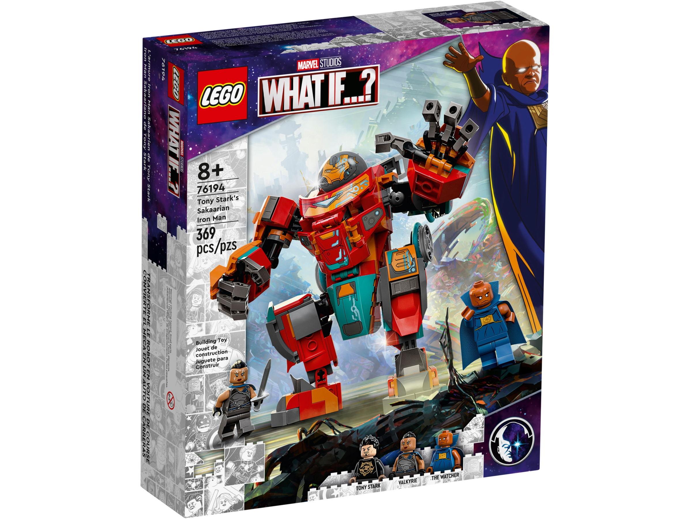 LEGO Star Wars 76194 Tony Stark's Sakaarian Iron Man