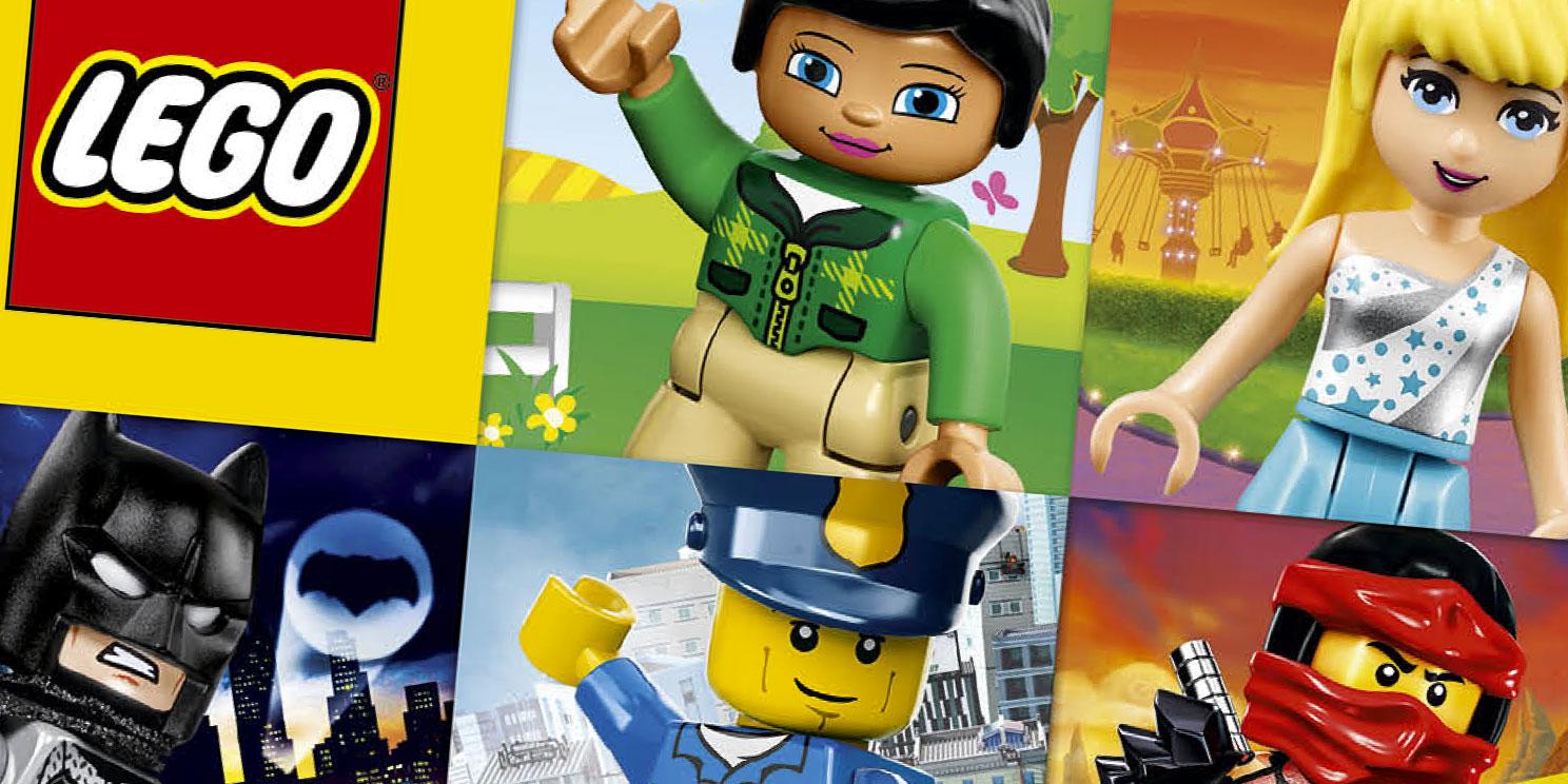 De nieuwe LEGO catalogus is uit !