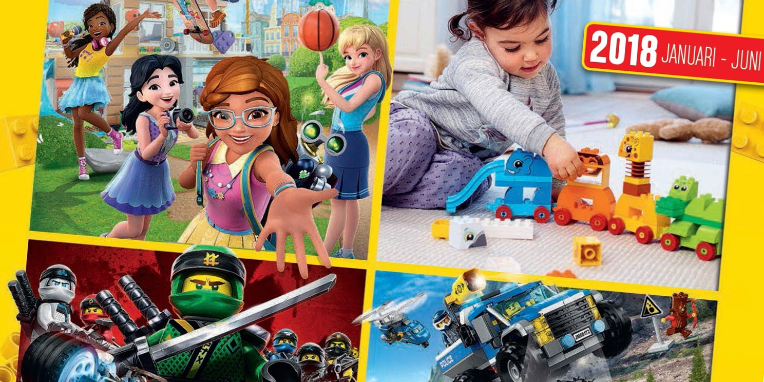 LEGO Catalogus januari - juni 2018 is er!