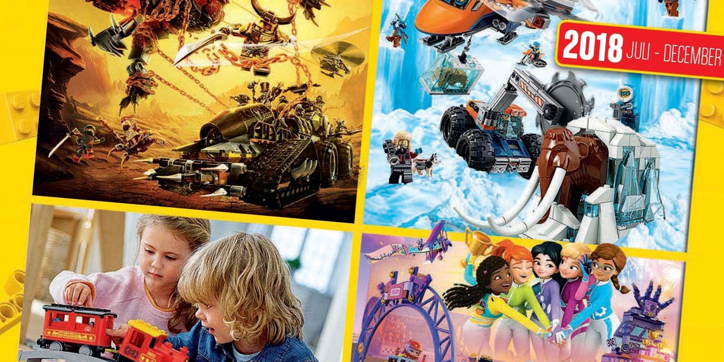 LEGO Catalogus Juli - December is beschikbaar !