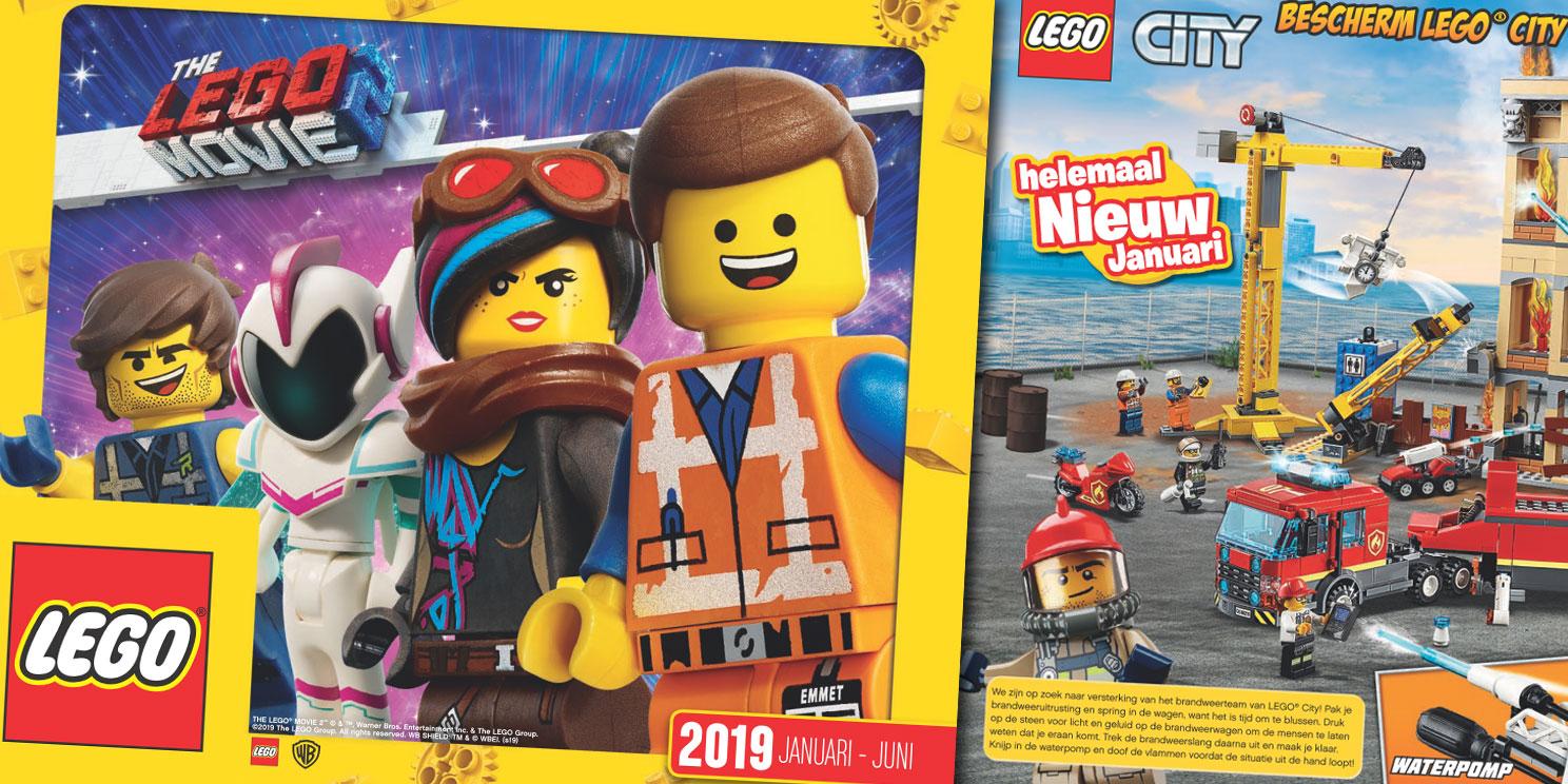 LEGO catalogus 2019 (januari-juni) is beschikbaar