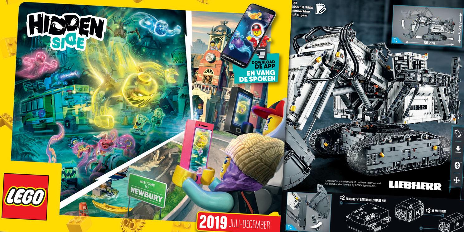 Nieuwe LEGO catalogus 2019 (juli-december)