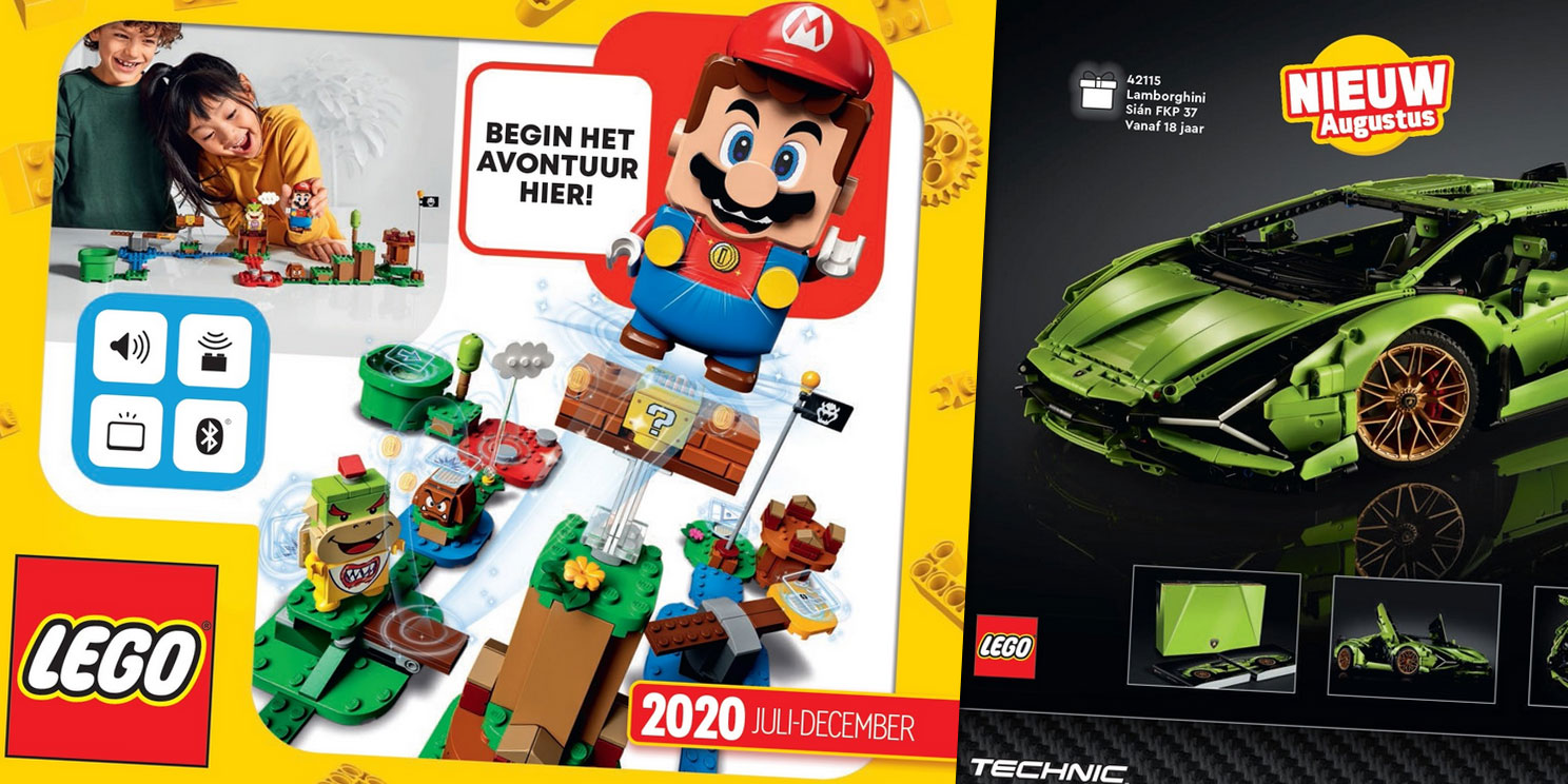 LEGO catalogus 2020 (juli-december)