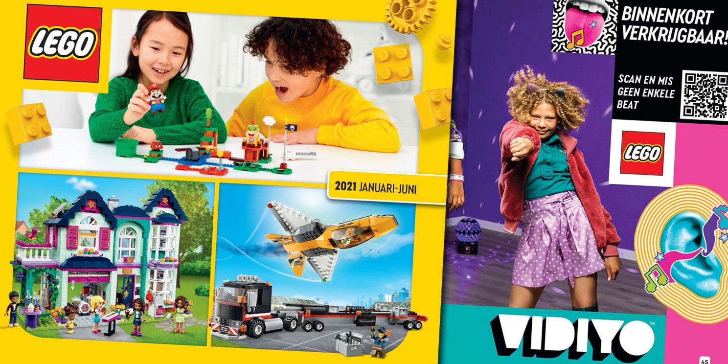 LEGO Catalogus 2021 (januari-juni)
