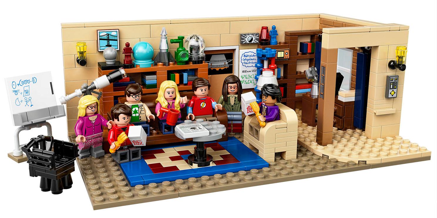The Big Bang Theory : LEGO style!