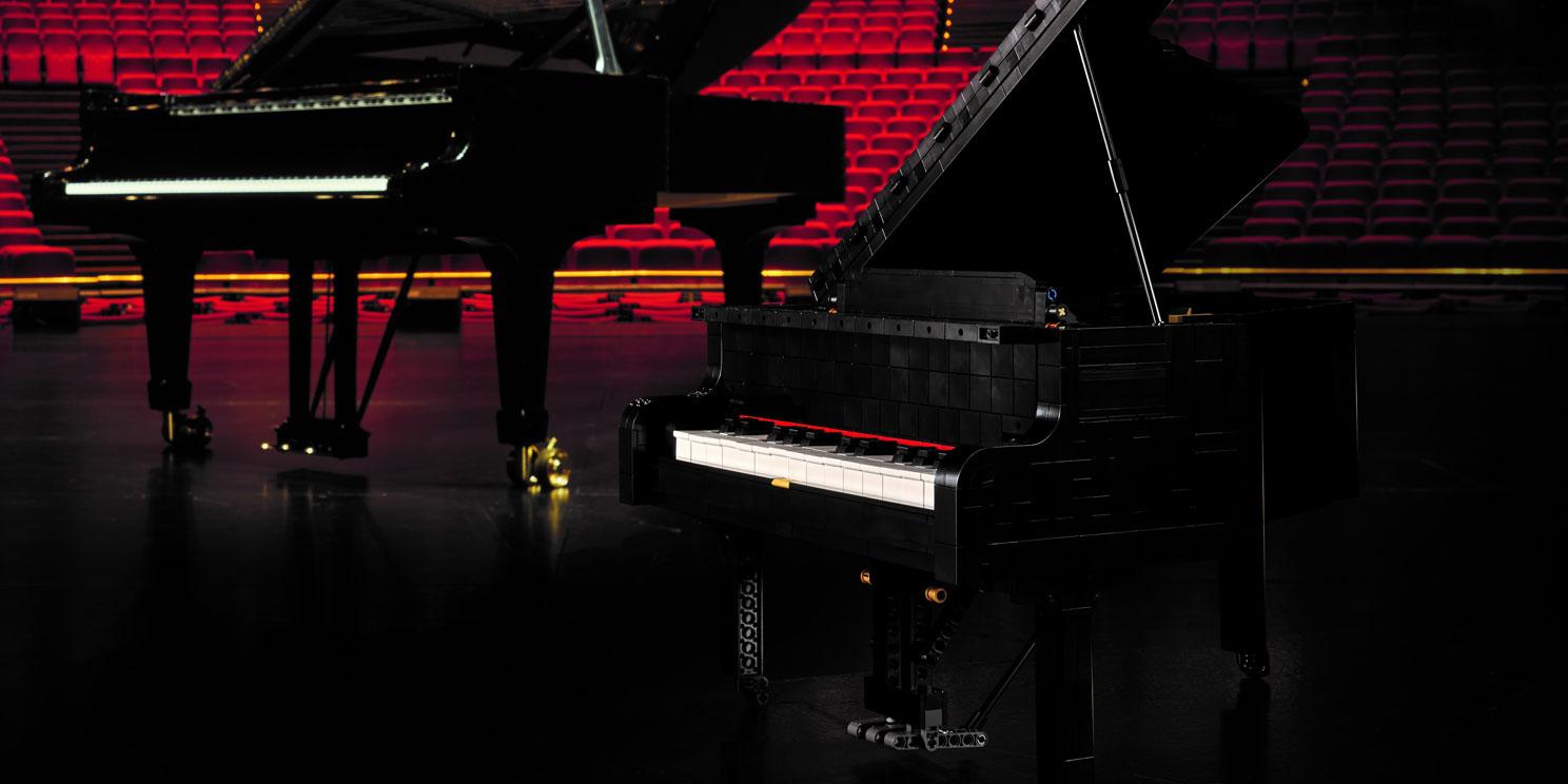 LEGO Ideas 21323 Vleugel piano