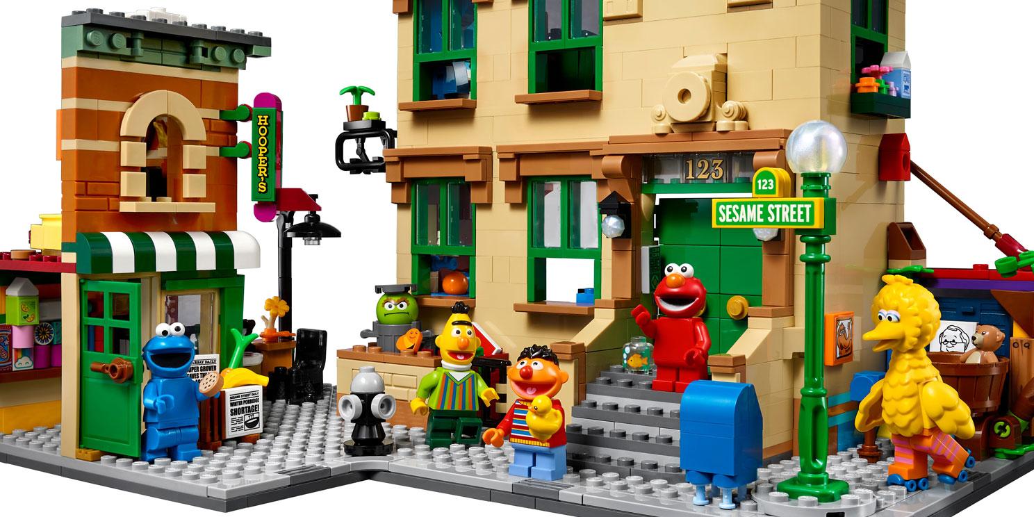 LEGO Ideas Sesamstraat (21324)