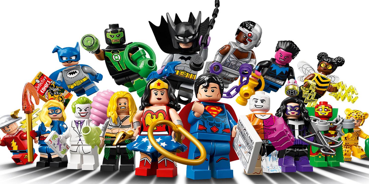 Minifigures DC Universe Super Heroes