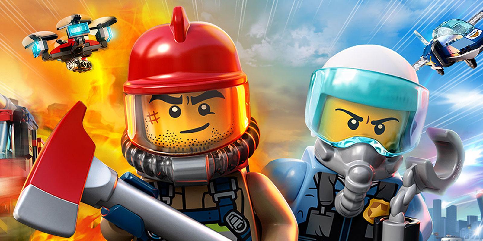 LEGO City weer boordevol actie.