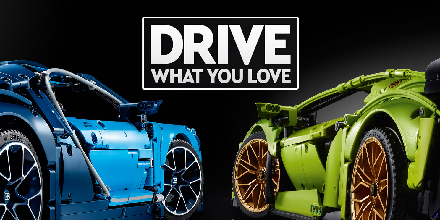DRIVE WHAT YOU LOVE!