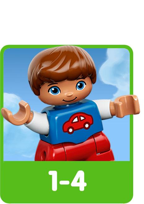 LEGO voor de leeftijdscategorie 1 tot 4 jaar