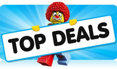 Check onze LEGO Topdeals!