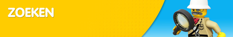 Banner zoekresultaten LEGO Misterbricks